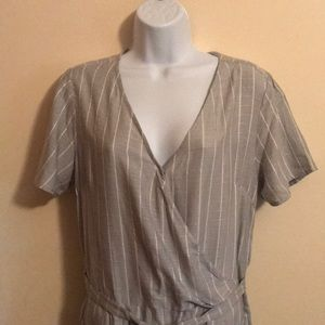 A New Day Short Sleeve Jumpsuit